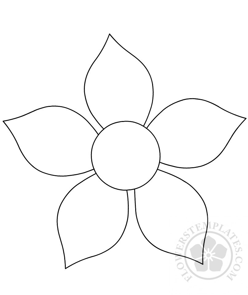 Magic image with flower cutouts printable